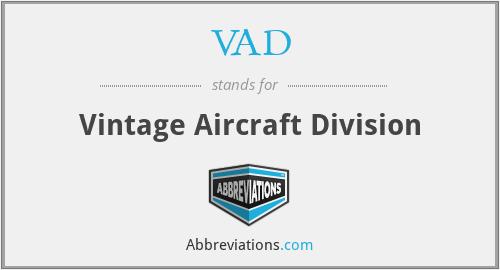 VAD - Vintage Aircraft Division