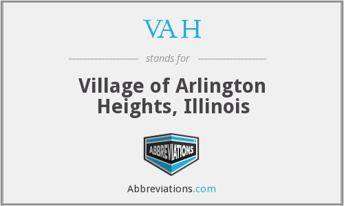 VAH - Village of Arlington Heights, Illinois