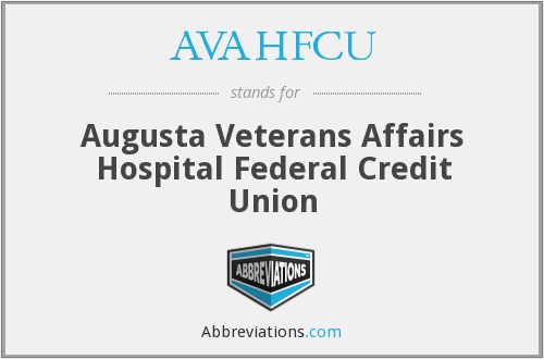 What does AVAHFCU stand for?