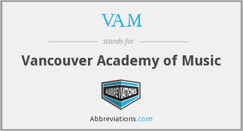 VAM - Vancouver Academy of Music