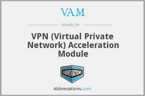 VAM - VPN (Virtual Private Network) Acceleration Module