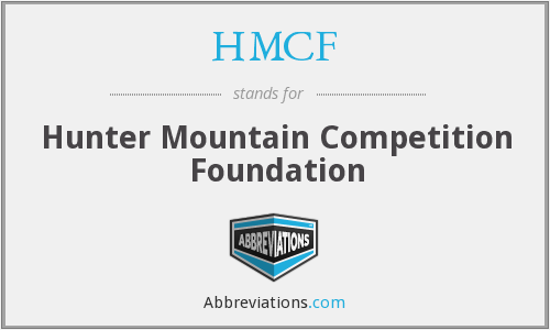 HMCF - Hunter Mountain Competition Foundation