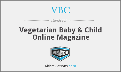 VBC - Vegetarian Baby & Child Online Magazine