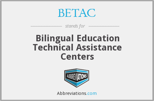 What does BETAC stand for?