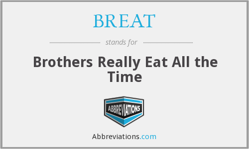 What does BREAT stand for?
