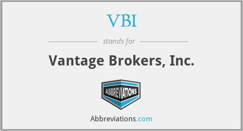 VBI - Vantage Brokers, Inc.