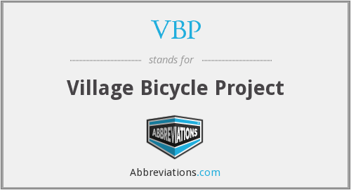 VBP - Village Bicycle Project