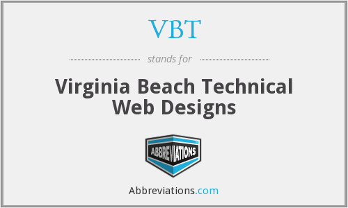 VBT - Virginia Beach Technical Web Designs