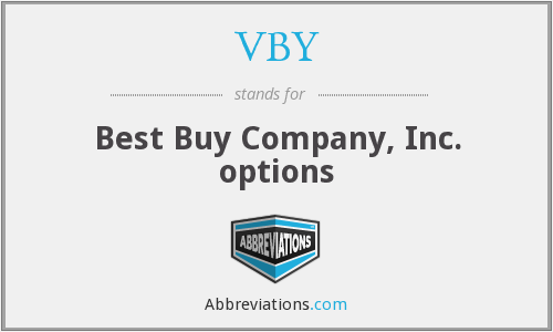 VBY - Best Buy Company, Inc. options