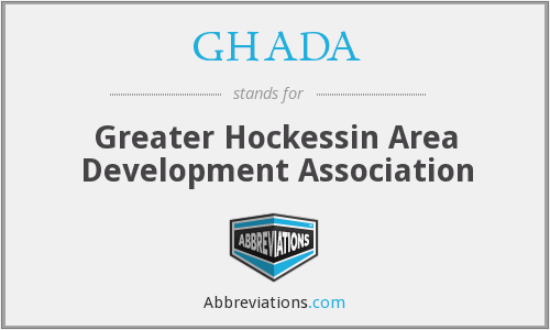 What does GHADA stand for?