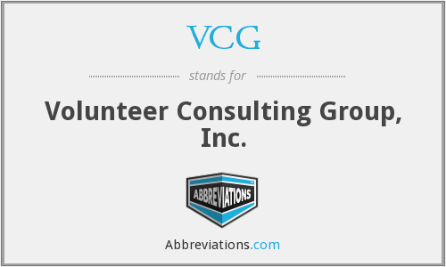 VCG - Volunteer Consulting Group, Inc.