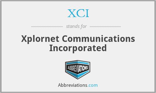 XCI - Xplornet Communications Incorporated