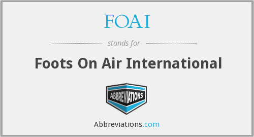FOAI - Foots On Air International