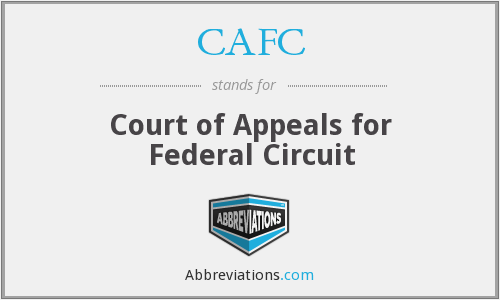CAFC - Court of Appeals for Federal Circuit