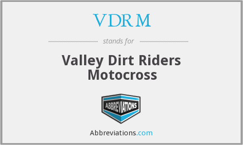 VDRM - Valley Dirt Riders Motocross