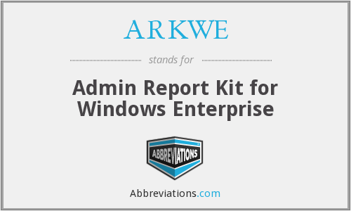 What does ARKWE stand for?