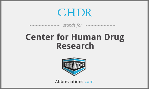 CHDR - Center for Human Drug Research
