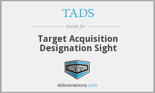What does TADS stand for?