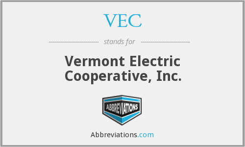 VEC - Vermont Electric Cooperative, Inc.