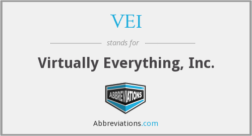 VEI - Virtually Everything, Inc.