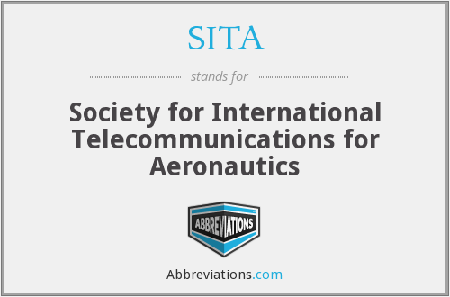 SITA - Society for International Telecommunications for Aeronautics