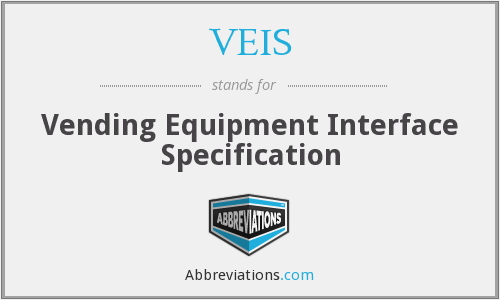 VEIS - Vending Equipment Interface Specification