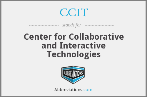 CCIT - Center for Collaborative and Interactive Technologies