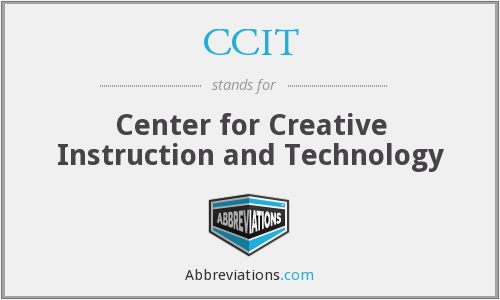 CCIT - Center for Creative Instruction and Technology