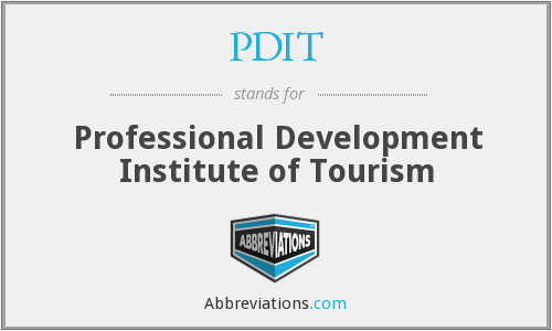 PDIT - Professional Development Institute of Tourism