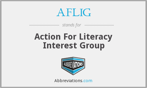 AFLIG - Action For Literacy Interest Group
