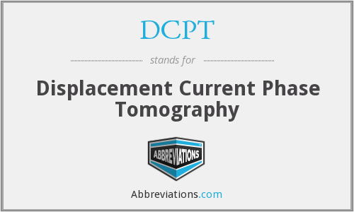 DCPT - Displacement Current Phase Tomography