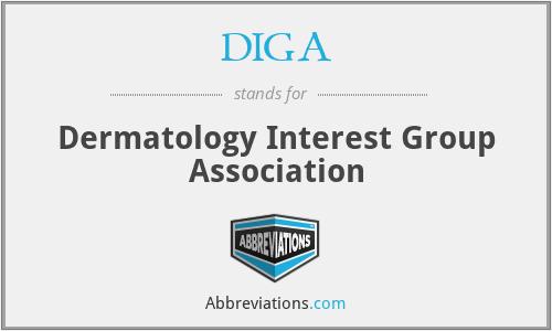 DIGA - Dermatology Interest Group Association