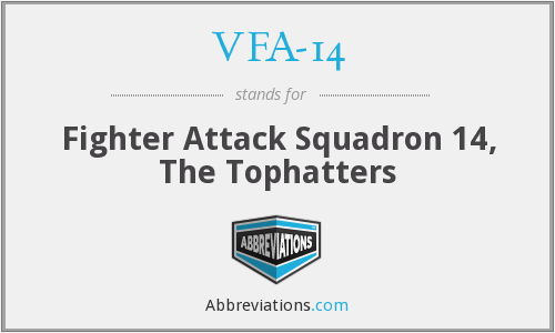 VFA-14 - Fighter Attack Squadron 14, The Tophatters