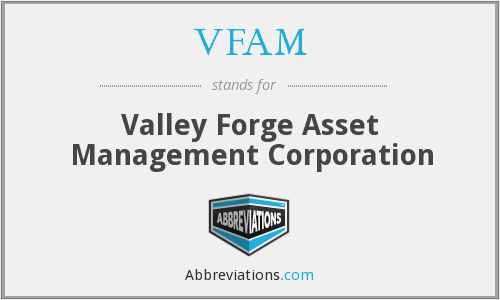 What does VFAM stand for?
