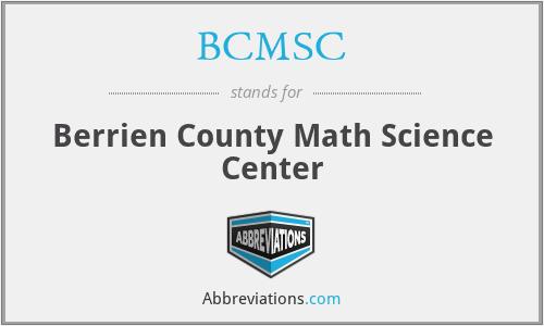 BCMSC - Berrien County Math Science Center