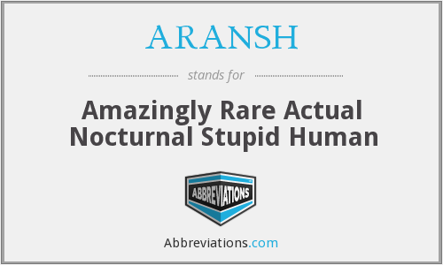 What does ARANSH stand for?