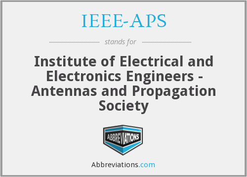 What does IEEE-APS stand for?