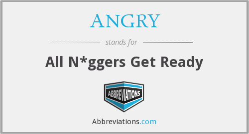 What does ANGRY stand for?