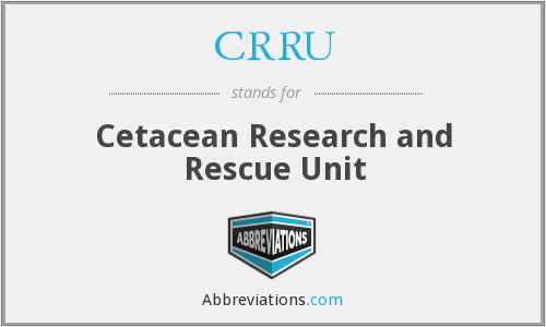 What does CRRU stand for?