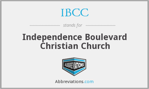 IBCC - Independence Boulevard Christian Church