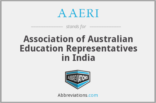 What does AAERI stand for?
