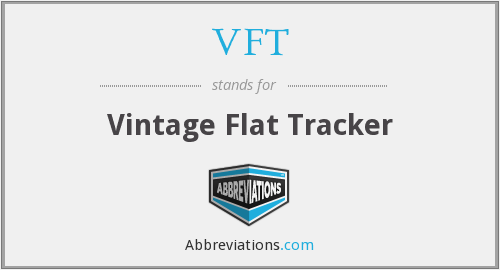 VFT - Vintage Flat Tracker