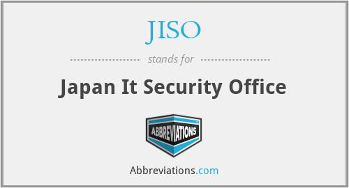JISO - Japan It Security Office
