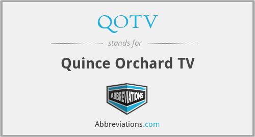 QOTV - Quince Orchard TV