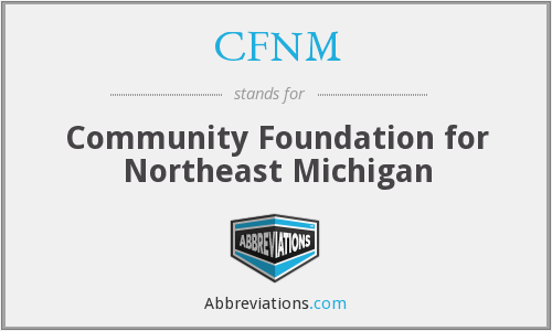 CFNM - Community Foundation for Northeast Michigan