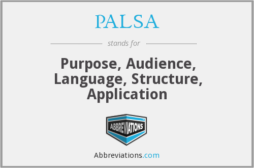 What does PALSA stand for?
