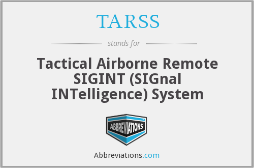 What does TARSS stand for?