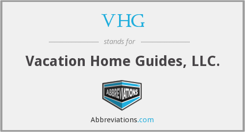 VHG - Vacation Home Guides, LLC.