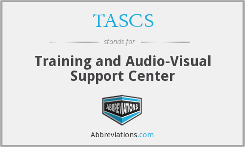 What does TASCS stand for?