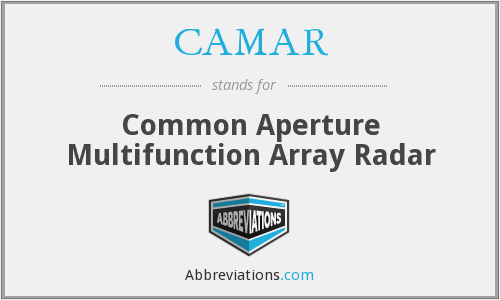 What does CAMAR stand for?